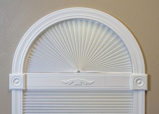 Original Arch Window Shades By Redi Shade No Tools Install