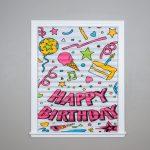 Happy Birthday Celebration Shades