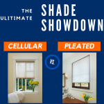 Cellular vs. Pleated Window Shades Infographic