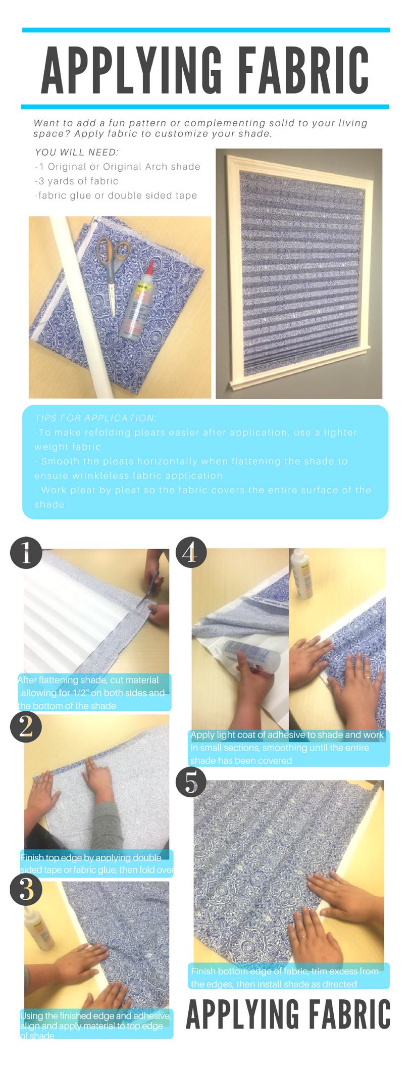Decorating Shades (fabric shade)