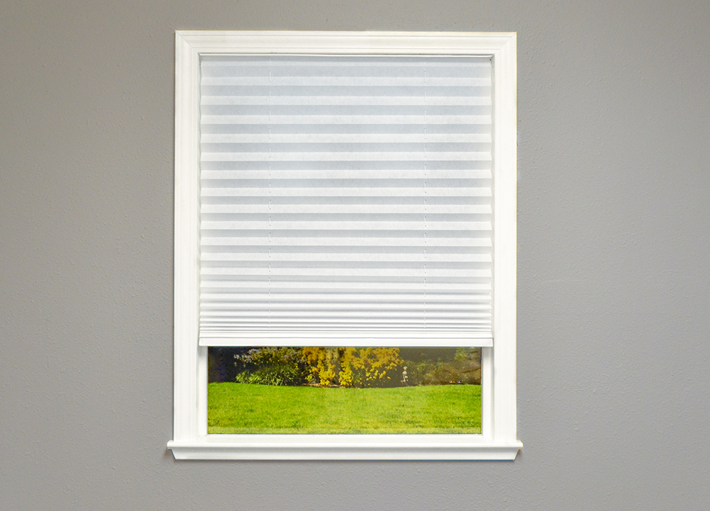 Easy Lift Select in Pleated Light Filtering White