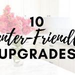 Renter-Friendly Upgrades