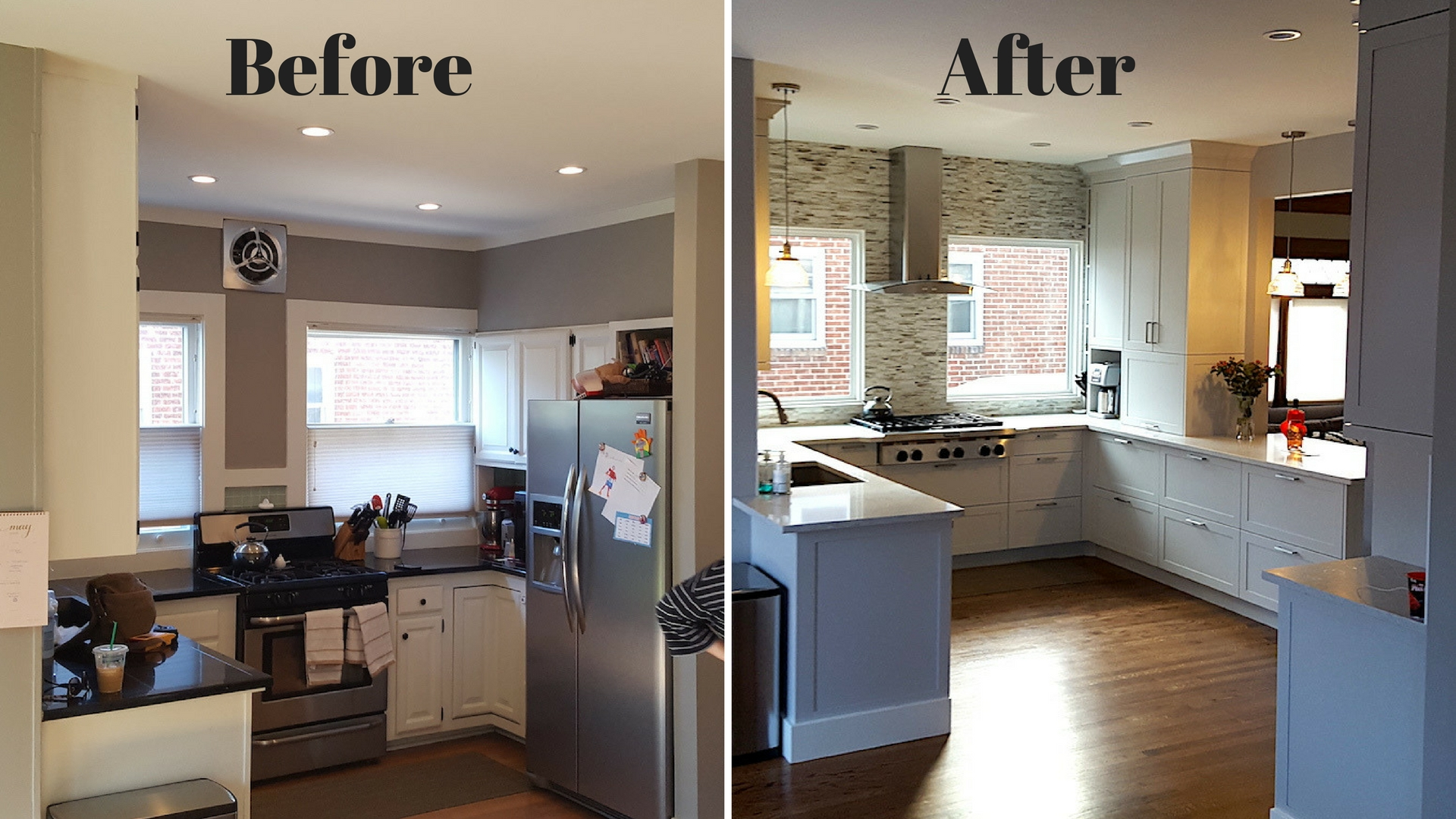 Kitchen remodel - Redi Shade