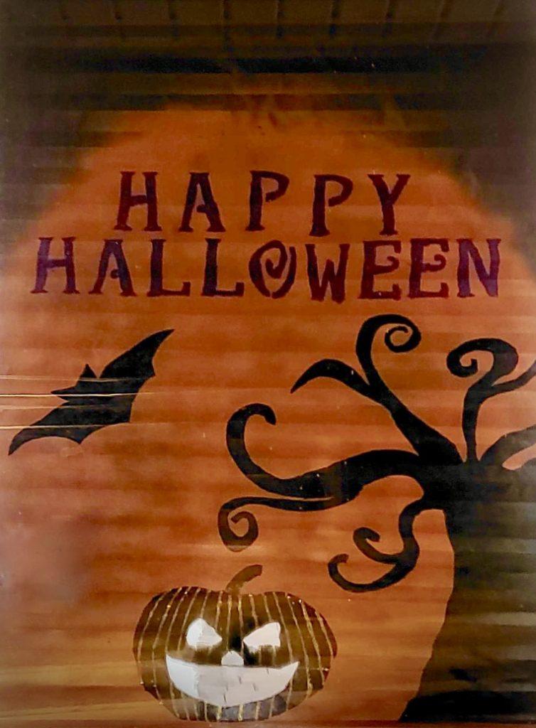 halloween shade