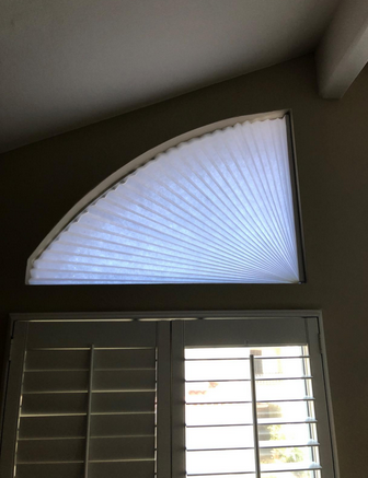 Original Arch Shade half window