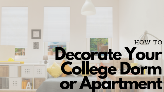 How to decorate your college dorm or apartment blog board